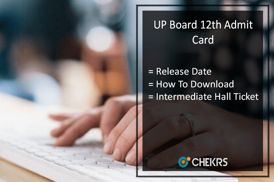 UP Intermediate Admit Card 2020 - 12th Class Board Roll