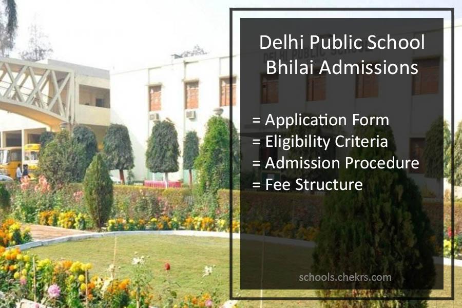 Delhi Public School Bhilai Admission 2018 19 Application Form