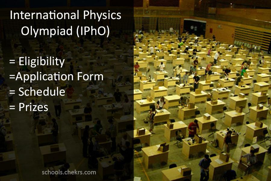 IPhO 2019 - 50th International Physics Olympiad Registration Dates