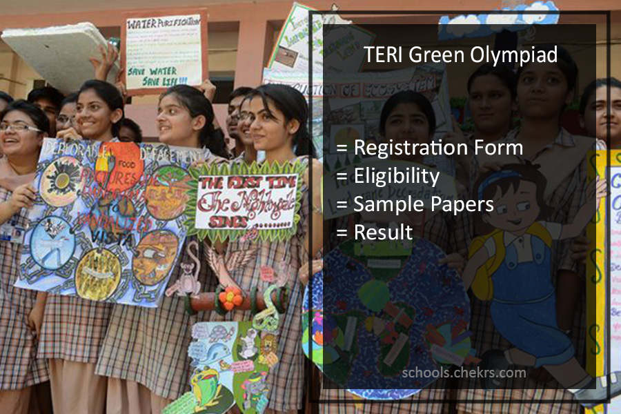 TERI Green Olympiad 2019 Registration Form (Available Here