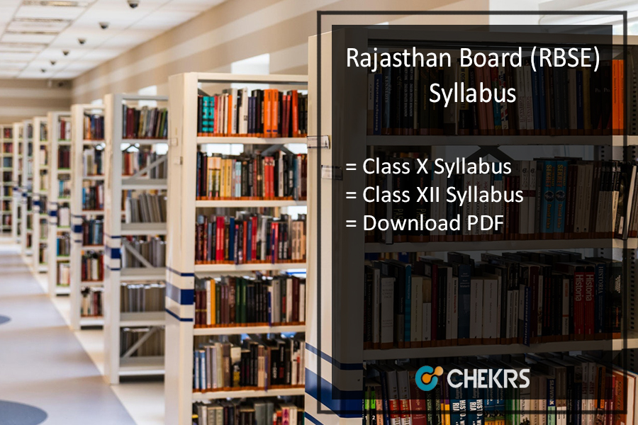 Rajasthan Board (RBSE) New Syllabus 2019-20 Pdf - 10th 12th 11th 9th