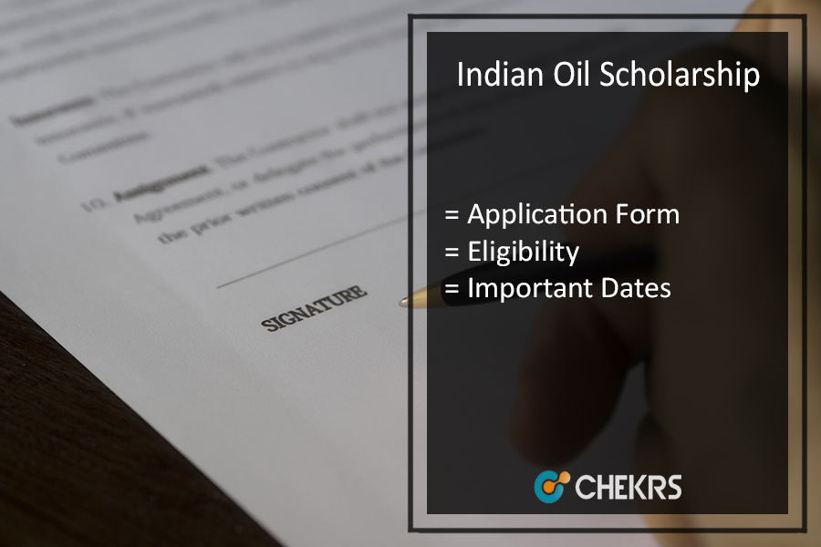 Indian Oil (IOCL) Scholarship 2019-20 | Application Form