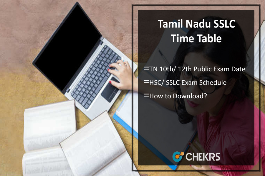Tamil Nadu Public Exam Time Table 2020 SSLC/ 10th, HSC/ 12th Exam Dates