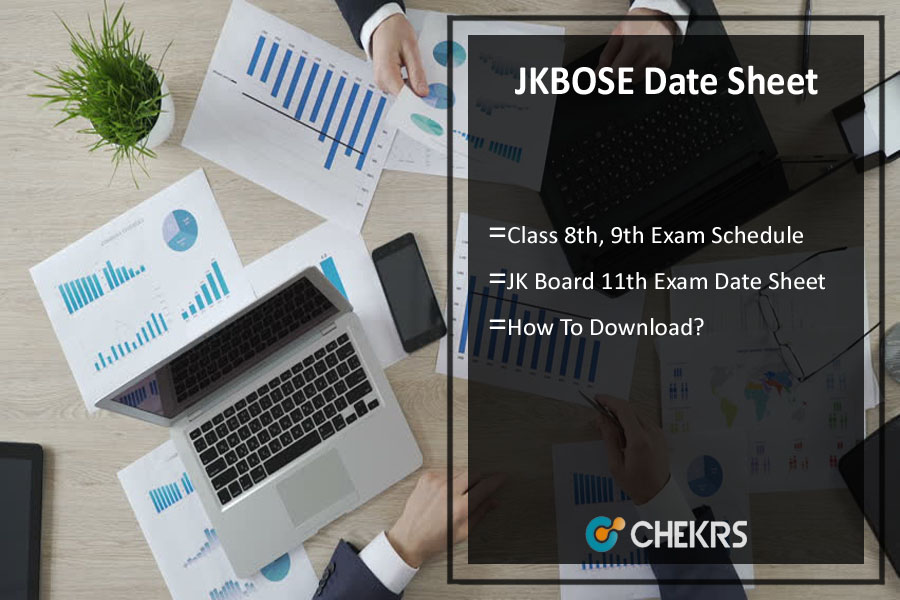 JKBOSE Date Sheet Winter Zone 2019 - 8th, 9th, 11th Class