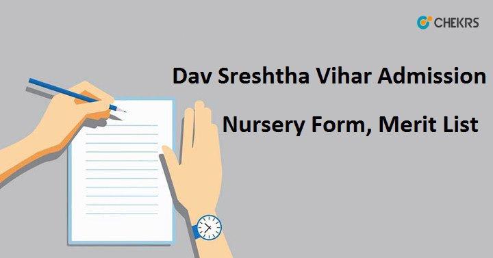 Dav Sreshtha Vihar Admission 2020-21, Merit List, 11th Class Forms