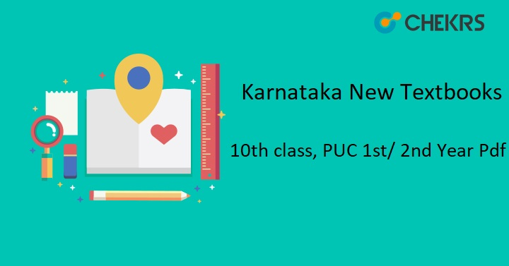 New Textbooks 2019-2020 : Karnataka 10th class, PUC 1st/ 2nd