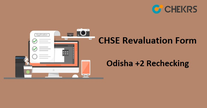 CHSE Revaluation Form 2019 (Released)- Odisha +2 Rechecking Form