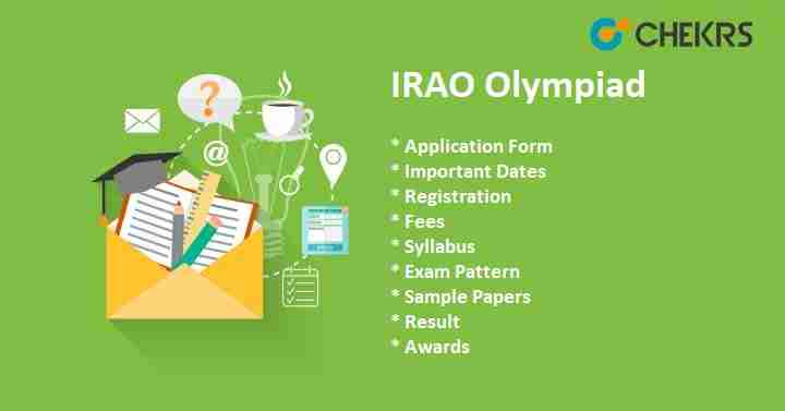 IRAO Olympiad 2019 Apply Online, Exam Date & Syllabus @ silverzone org