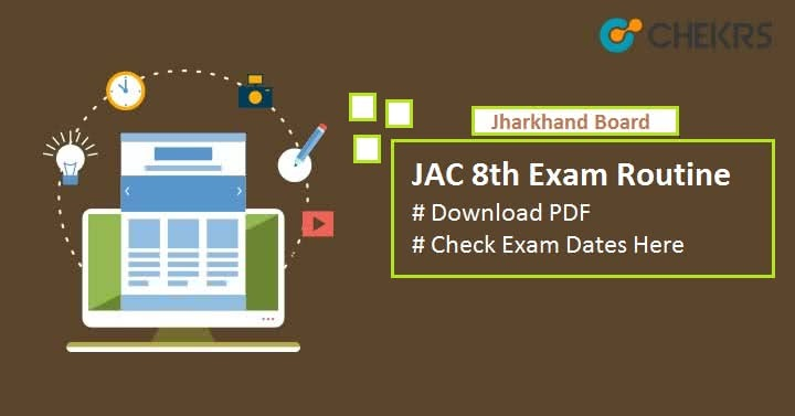 JAC 8th Exam Routine 2019- Download Schedule Pdf, Question