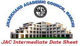 JAC Intermediate Date Sheet 2017