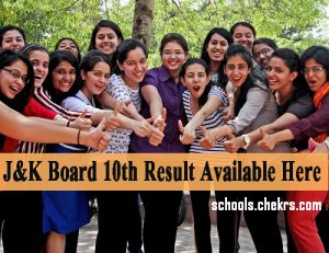 JKBOSE 10th Result 2017- Jammu SSC Scorecard Name Wise Available
