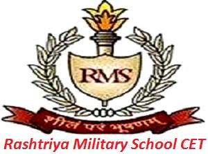 Rashtriya Military School CET 2017