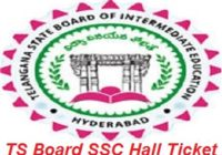 TS Board SSC Hall Ticket 2017
