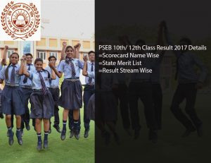 PSEB 10th Class Result 2017- Punjab Board Matric Results Name Wise