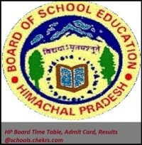 HPBOSE 10th Date Sheet 2017- HP Board Matric Time Table Download