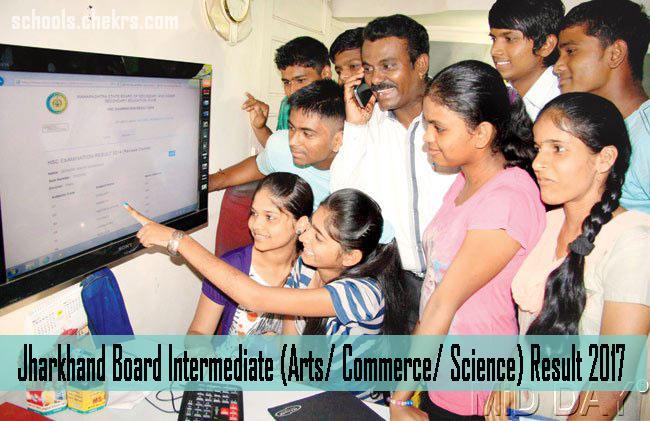 JAC Intermediate Result 2017- Download Jharkhand Board 12th Scorecard