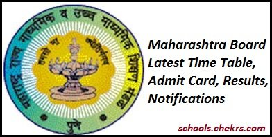 Maharashtra Board HSC Time Table 2017- Maha 12th Date Sheet (Science/ Commerce/ Arts)