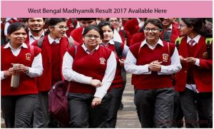 West Bengal Madhyamik Result 2017- WB Board 10th Merit List Download