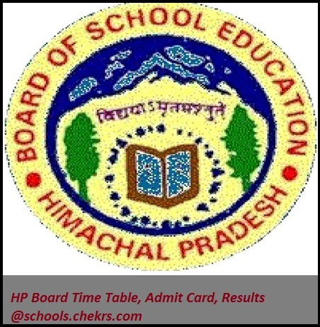 HP Board (HPBOSE)- Time Table, Admit Card, Result, Schools
