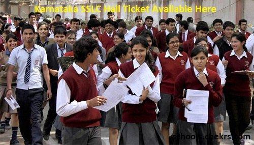 Karnataka SSLC Hall Ticket 2017- kseeb.kar.nic.in 10th Admit Card Download