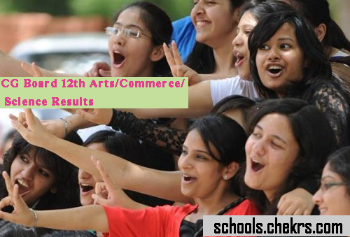 CG Board 12th Result 2017- CGBSE Arts Commerce Science Scorecard