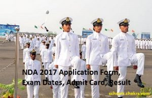 NDA 2017- Application Form, Exam Date, Admit Card, Result, Eligibility