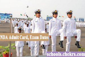NDA Admit Card 2017- UPSC NA (I) Hall Ticket Download Name Wise