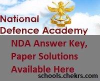NDA 2017 Answer Key- SET A, B, C, D NA-I Question Paper Solutions