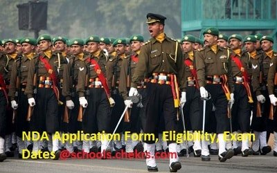 NDA 2017 Application Form- Online Apply Here, Exam Dates available