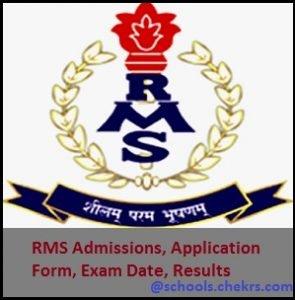 Rashtriya Military School (RMS) Admissions 2017- CET Exam, Schools
