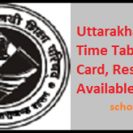 Uttarakhand Board (UK) 12th Arts Science Commerce Result 2017 Available