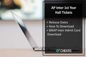 AP Inter 1st Year Hall Tickets 2018- BIEAP Inter Hall Ticket Download