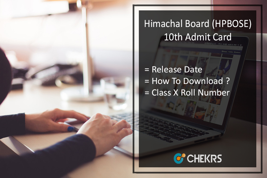 HP Board 10th Admit Card, HPBOSE 10th Class Roll Number