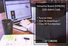 HP Board 12th Admit Card, HPBOSE 12th Class Roll No Release Date