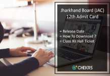 JAC 10th Admit Card , Jharkhand Board Matric Hall Ticket Release Date