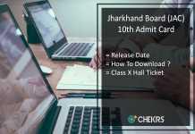 JAC 12th Admit Card, Jharkhand Board Intermediate Hall Ticket Release Date