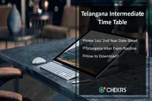 Telangana Intermediate Time Table- Inter 1st/ 2nd Year Date Sheet Download