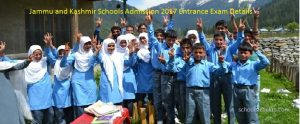 Jammu and Kashmir Schools Admission 2017- Entrance Exam, Dates Check