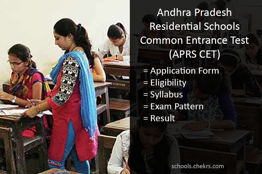 APRS 5th Class Admission Test 2017 (APRS CET)- Result Notification
