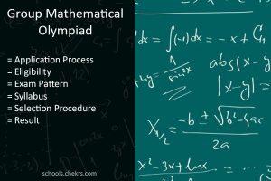 GMO 2018- Group Mathematical Olympiad CBSE