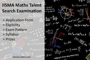 IISMA MTSE 2018 - Maths Talent Search Examination: www.iisma.com