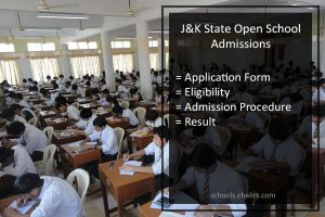 Jammu and Kashmir State Open School (JKSOS) Admissions 2017