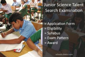 JSTSE 2018- Application Form, Eligibility, Syllabus, Pattern