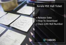 Kerala HSE Hall Ticket, Kerala 12th Class Roll Number Release Date