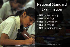 NSE 2017 - National Standard Examination