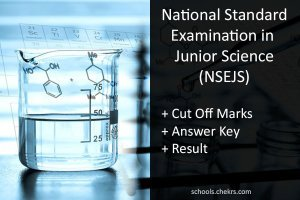 NSEJS 2017- Cut off Marks, Answer Key, Result : iapt.org.in