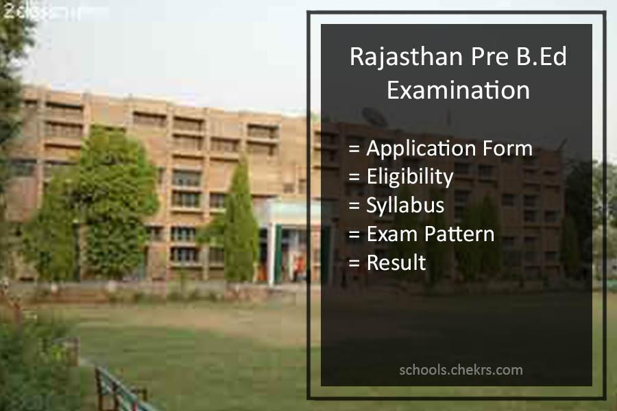 Pre B.Ed Exam 2017- Application Form, Syllabus, Pattern, MDSU