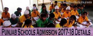 Punjab Schools Admission 2017-18, Entrance Exam, Eligibility, Dates