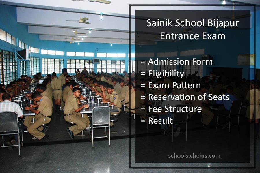 Sainik School Bijapura Admission Process 2018 Details Available