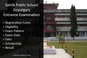 Sainik School Gopalganj Admission Details Available